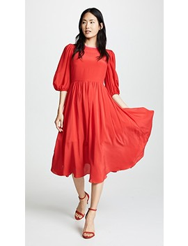 Puff Sleeve Dress by Anna October