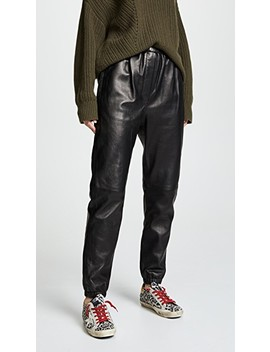 Leather Track Pants by 3.1 Phillip Lim
