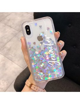 Reflective Holographic Moving Heart For Iphone 8 Plus Case by Etsy