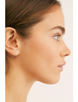 Heart Threaded Single Stud Earring by Free People