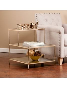 Henderson Warm Gold Accent Table by Pier1 Imports
