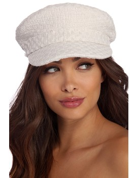 Trendy Tweed Cabby Hat by Windsor