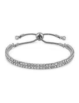 Jon Richard   Crystal Bar Toggle Bracelet by Jon Richard
