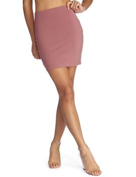 Ponte Knit Mini Skirt by Windsor