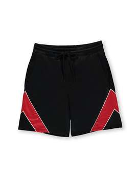 Chevron Panel Shorts by Forever 21