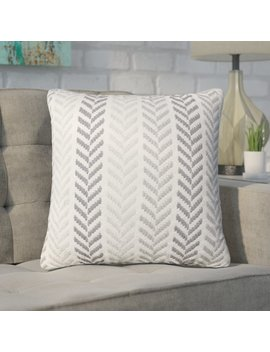 Andover Mills Galilea Chevron 100 Percents Cotton Throw Pillow & Reviews by Andover Mills