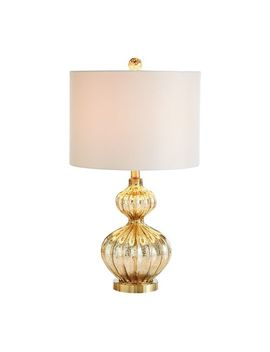 Golden Luxe Gourd Table Lamp by Pier1 Imports