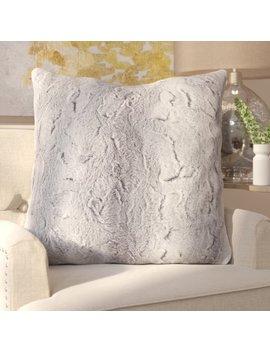 Willa Arlo Interiors Atkins Faux Fur Euro Pillow & Reviews by Willa Arlo Interiors