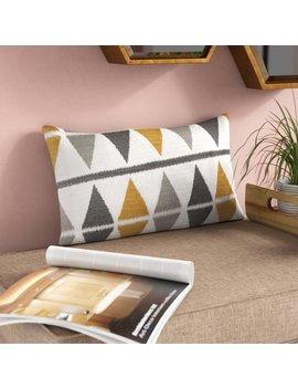Wrought Studio Mcgowan 100 Percents Cotton Lumbar Pillow & Reviews by Wrought Studio