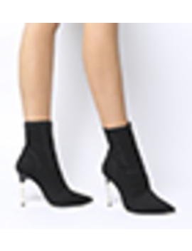 Aflame  Metal Heel Sock Boot by Office