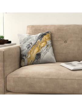 East Urban Home Harmony Throw Pillow & Reviews by East Urban Home