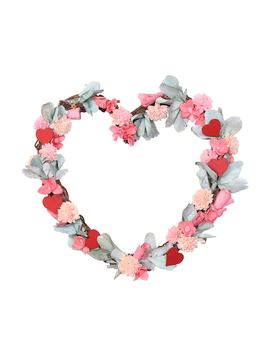 Celebrate Valentine's Day Together Artificial Flower Heart Wreath by Kohl's