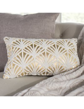 House Of Hampton Buxton Flock Cotton Lumbar Pillow & Reviews by House Of Hampton