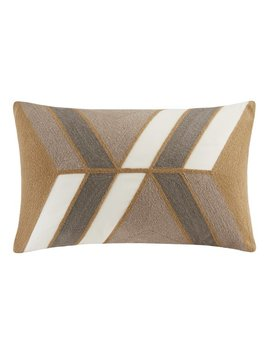 Langley Street Benefield Embroidered Lumbar Pillow & Reviews by Langley Street