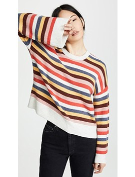 Striped Cardiff Sweater by Madewell