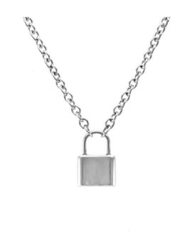 Love Lock Padlock Necklace by Moon Child