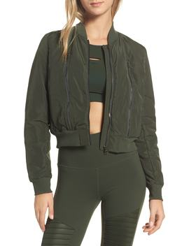Off Duty Bomber Jacket by Alo