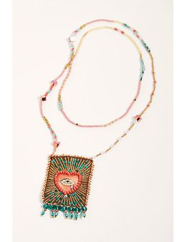 Olivia Dar Talisman Necklace by Free People