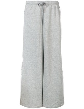 Loose Fitted Track Trousers by Sjyp