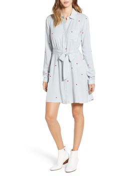 Hattie Heart Shirtdress by Love, Fire
