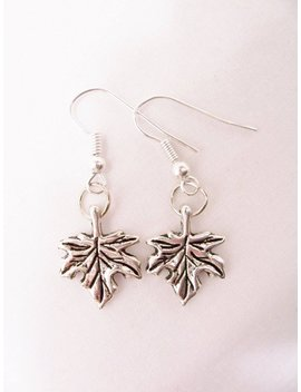 Maple Leaf Earrings   Maple Leaves   Maple Leaf Charm Jewelry   Leaf Jewelry   Canadian Maple Leaf Earrings   Canada Jewelry by Etsy