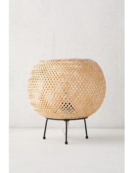 Alina Rattan Table Lamp by Urban Outfitters