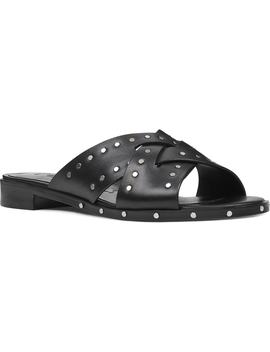 Clermont Studded Slide Sandal by Nine West