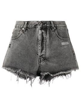 Frayed Edge Shorts by Off White