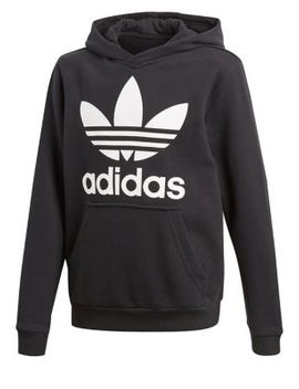 Boy's Logo French Terry Hoodie by Adidas