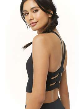 Active Medium Impact Caged Sports Bra by Forever 21