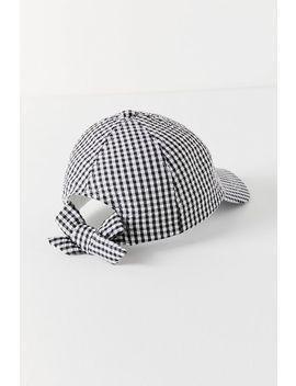 Seersucker Baseball Hat by Urban Outfitters
