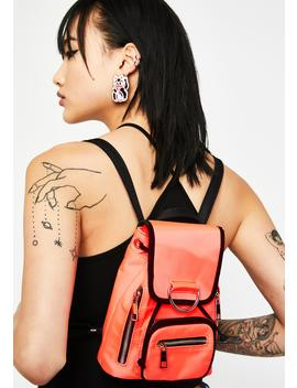 Super Charged Nylon Backpack by Current Mood