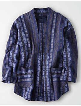 Ae Kimono Jacket by American Eagle Outfitters