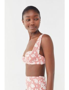 Out From Under Stevie Floral Underwire Bikini Top by Out From Under