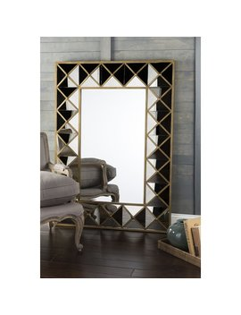House Of Hampton Aged Accent Mirror by House Of Hampton