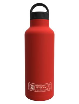 Seven Fifty 25 Ounce Insulated Stainless Steel Canteen by Shine Craft Vessel