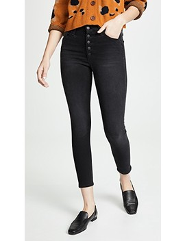 The Hi Honey Ankle Button Fly Jeans by Joe's Jeans