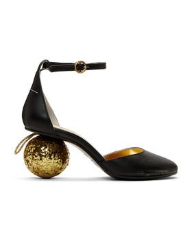Black Ball Heels by Mm6 Maison Margiela
