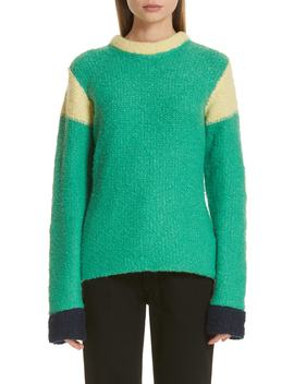Kermit Colorblock Sweater by Eckhaus Latta