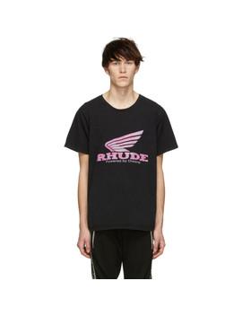Black Rhonda T Shirt by Rhude