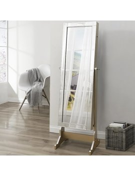 Inspired Home Co. Dazzle Full Length Jewelry Armoire With Mirror & Reviews by Inspired Home Co.
