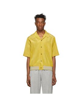 Yellow Ribbed Hem Souvenir Shirt by 3.1 Phillip Lim