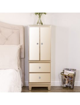 House Of Hampton Berges Free Standing Jewelry Armoire With Mirror & Reviews by House Of Hampton