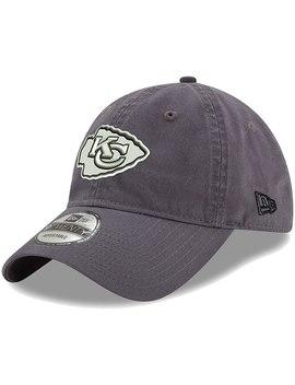 Kansas City Chiefs New Era Paramount 9 Twenty Adjustable Hat   Charcoal by New Era