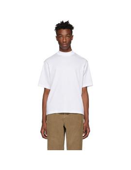 White Eagan T Shirt by Acne Studios