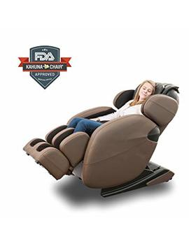 Zero Gravity Full Body Kahuna Massage Chair Recliner Lm6800 With Yoga & Heating Therapy (Brown) by Kahuna Massage Chair