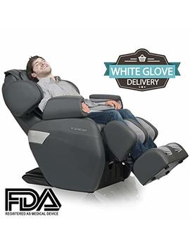 Relaxonchair [Mk Ii Plus] Full Body Zero Gravity Shiatsu Massage Chair With Built In Heat And Air Massage System   Charcoal (White Glove Delivery) by Relaxonchair