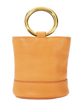 Bonsai Gold Mini Bucket Bag by Simon Miller