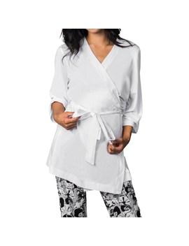 Soybu Zen Stretch Jersey Robe   3/4 Sleeve (For Women) by Soybu