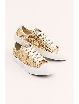 Sequin Low Top Chuck by Free People